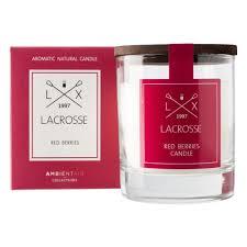 <b>Свеча ароматическая AMBIENTAIR</b> Lacrosse Красные ягоды, 1 шт