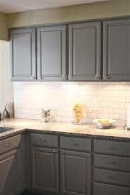 Gray Tile Kitchen Floor Gray Cabinets With White Subway Tile Backsplash Gray Kitchen