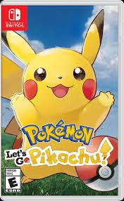 Pokemon: Let's Go, <b>Pikachu</b>! | Nintendo Switch | GameStop