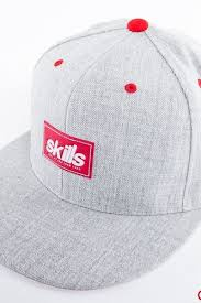 <b>Бейсболка SKILLS Patch Hat</b> (Heather Grey, O/S) | www.xn ...
