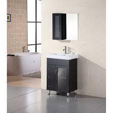 element contemporary bathroom vanity set: design element milan quot bathroom vanity espresso