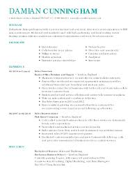 s oriented resume cover letter professional summary resume for s experience as manufacturer s representative and regional
