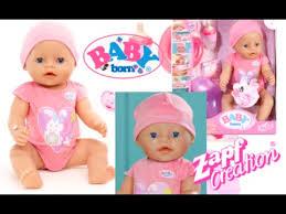 <b>Zapf Creations</b> New <b>Baby Born</b> Interactive Doll Unboxing (original box)