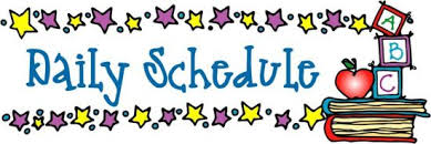 Image result for classroom schedule