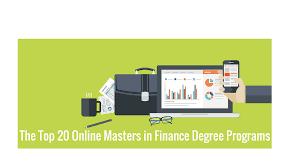 the best online masters in finance programs college rank