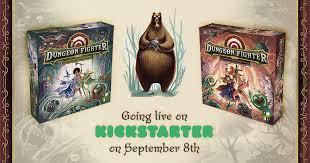 <b>Dungeon Fighter</b>: going live on Kickstarter on September 29th ...