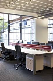 open plan office with red mullions openplanoffice cubiclescom awesome open office plan coordinated