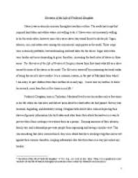 essay on frederick douglass  www gxart orgessay on frederick douglass s views about slavery in the city and narrative of the life