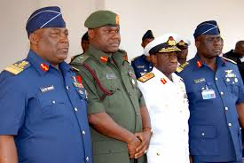 Image result for Nigerian service chiefs