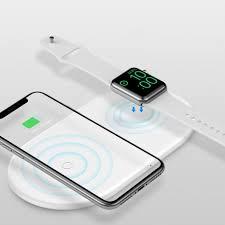 <b>BASEUS</b> BSWC-P20 <b>2</b> In <b>1</b> Wireless Charging Dock For Apple ...