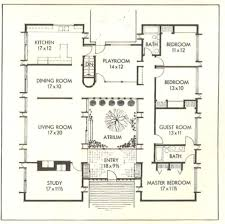 Available For First Time  The Iconic Flansburgh House in Lincoln    Floor plan as shown in Better Homes and Gardens
