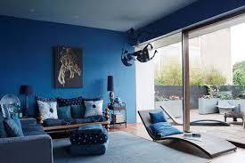 2 blue walls blue office walls