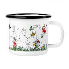 Moomin <b>Кружка</b> эмалированная <b>Happy</b> Family, 150 мл