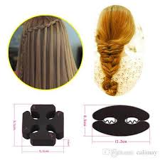 <b>2 hair styles lot</b> Fashion DIY <b>Magic</b> Twist Roller <b>Hair</b> Tools Weave ...