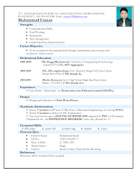 electro mechanical technician resume sample electro mechanical technician resume sample resumecareer info