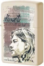 29051 <b>Зажигалка Zippo Kurt Cobain</b>, Cream Matte