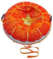 <b>Тюбинг Митек</b> Сочный Апельсин <b>110</b> см — купить по выгодной ...