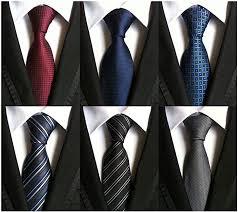 WeiShang Lot 6 PCS Classic <b>Men's 100</b>% <b>Silk Tie</b> Necktie Woven ...