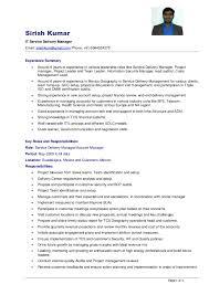 Resume  Sirish Kumar SDM Page   of   Sirish Kumar IT Service Delivery Manager Email  sirishkum gmail