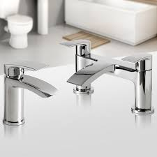 bath mixer taps basin bathroom chrome