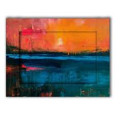 <b>Картина с Арт рамой</b> Рассвет 60х80 — купить по цене 9990 руб в ...