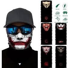 3D <b>Joker</b> Seamless Magic Neck Gaiter <b>Face Shield</b> Cycling Fishing ...