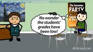 covert observation definition advantages video lesson participant observation definition and examples