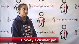 harvey s cashier job harvey s cashier job