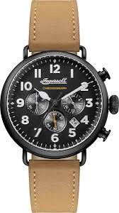 Наручные <b>часы Ingersoll I03502 мужские</b> кварцевые с хронографом