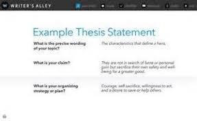 literary analysis essay thesis statement