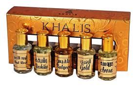 <b>Khalis Gold Set</b>: <b>масляные</b> духи 5*12мл (Gold + Balqees Arosa ...