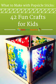 What to Make with Popsicle Sticks: 50+ Fun Crafts for Kids ...