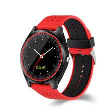 <b>V9 Bluetooth Smart Watch</b> Sync Notifier Support Sim Card Sport ...