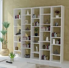 admirable huge white shelving unit design with unique rectangular