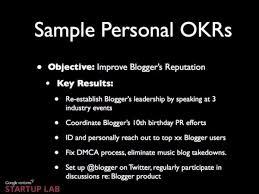 google s ranking system okr business insider sample okr
