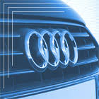 <b>Карбоновые накладки на зеркала</b> Audi Q7 4M - для а/м без ...