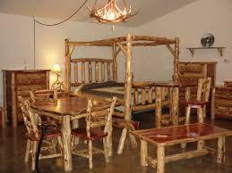 cedar log bedroom furniture