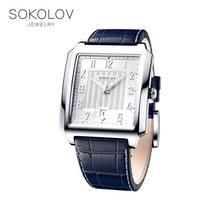 <b>Мужские серебряные часы SOKOLOV</b> - купить недорого в ...