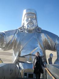a photo essay budget travel in backpacking road trip in chinggis khan statue