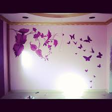 Simple Bedroom Wall Painting Amazing Simple Home Interior Designs Home Design Ideas
