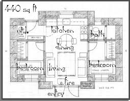 straw bale house plan  sq  ft  GUEST HOUSE
