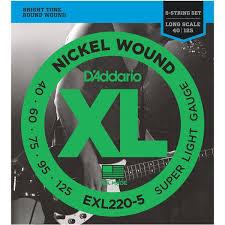 <b>D'Addario EXL220</b>-5 (для бас-<b>гитары</b>), купить <b>гитарные струны D</b> ...