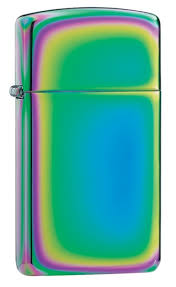 <b>Зажигалка ZIPPO Slim</b>® с покрытием Spectrum™, <b>латунь</b>/сталь ...