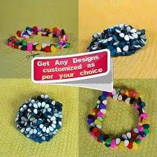 DIY Triangular Multi-Color Small <b>Resin Beads for Jewellery</b>