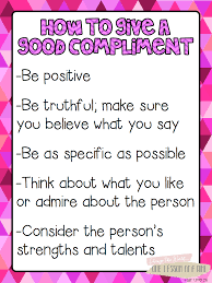 valentine s day class compliments blairturner com kindness blair turner is offering this amazing pack how to give a good compliment includes a list of positive character traits to look for in others and