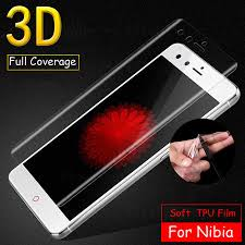 <b>3D Curved Soft</b> TPU Front Full Cover Screen Protector Film For ...