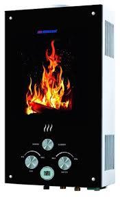 Проточный <b>газовый водонагреватель Edisson</b> Flame <b>F</b> 20 GD ...