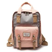 Canvas <b>Backpack</b> For <b>Women</b>, Designer Leather Convertible ...