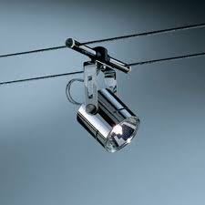 high line rony chrome cable track head cable lighting fixtures