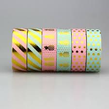 <b>1Pc</b>/<b>Pack Size 15 mm*10m</b> Kawaii Scrapbooking Tools DIY Stripes ...